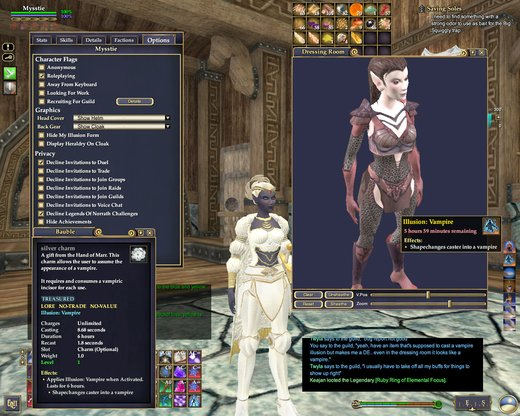 Bug - Silver Charm not Vampire | Bugs | EverQuest II