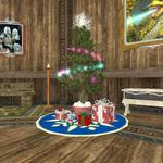 Frostfell House Decorations - Tree in Living Room