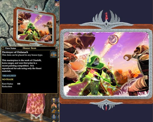 Destroyer of Ordanach   Paintings   House Items   EverQuest