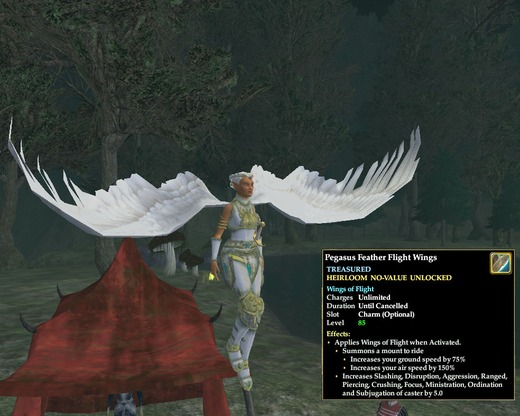 Pegasus Feather Flight Wings