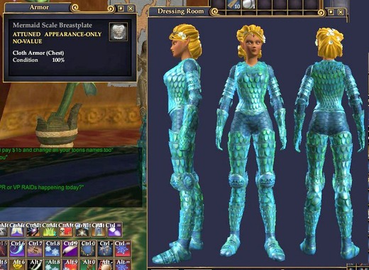Mermaid Scale Armor | Chain Armor | Outfits | EverQuest II