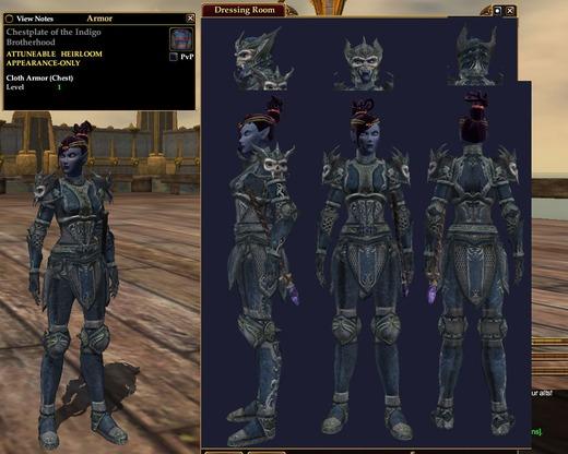 Indigo Brotherhood Armor | Plate Armor | Outfits | EverQuest II